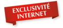 Exclusivité internet